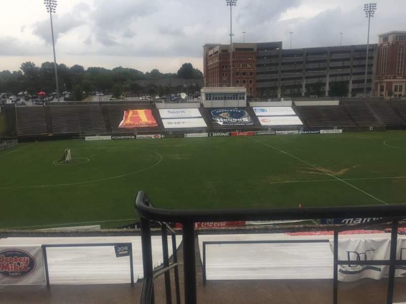 Sitzplatz-Aussicht für American Legion Memorial Stadium Abschnitt 11 Reihe GG Platz 2