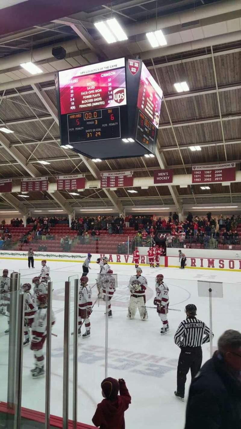 Sitzplatz-Aussicht für Bright-Landry Hockey Center Abschnitt 18 Reihe E Platz 7