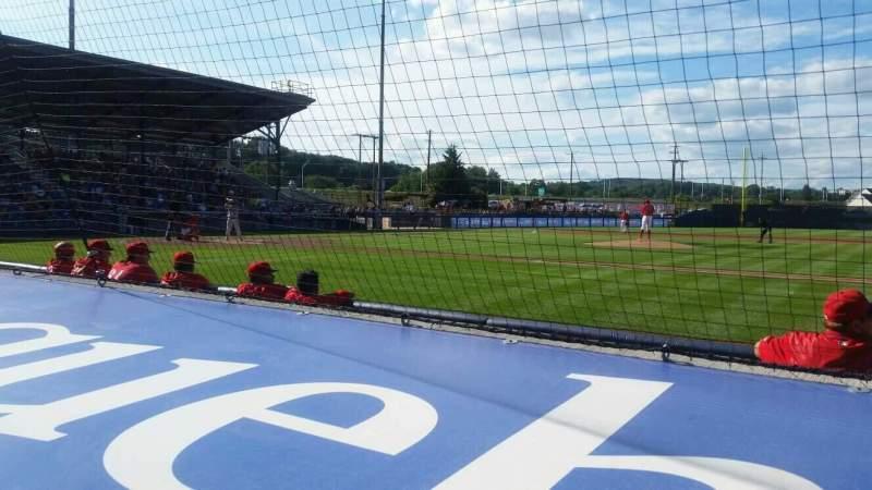 BB&T Ballpark at Historic Bowman Field, Abschnitt: s, Reihe: f, Platz: 5