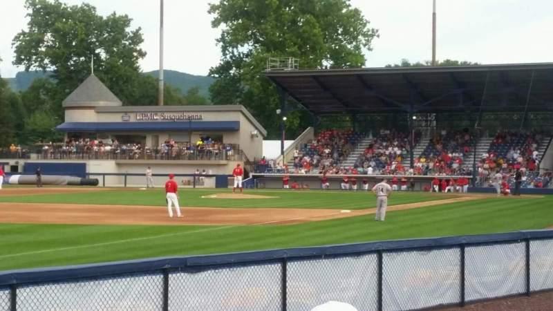 BB&T Ballpark at Historic Bowman Field, Abschnitt: cutters cove, Reihe: na, Platz: na