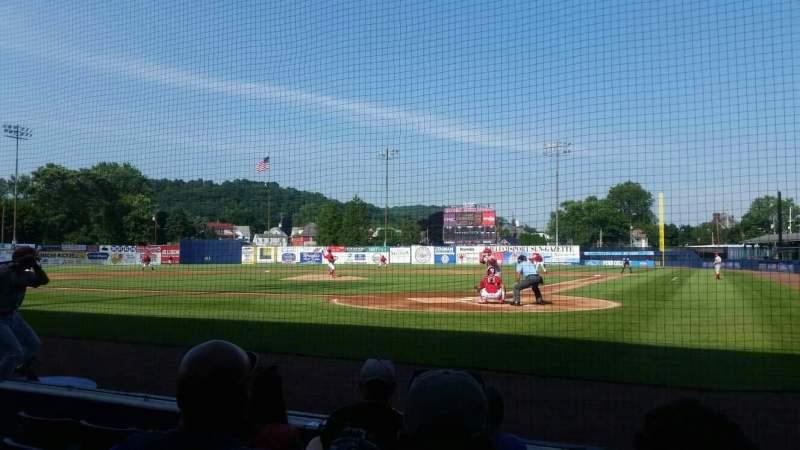 BB&T Ballpark at Historic Bowman Field, Abschnitt: j, Reihe: 8, Platz: 1