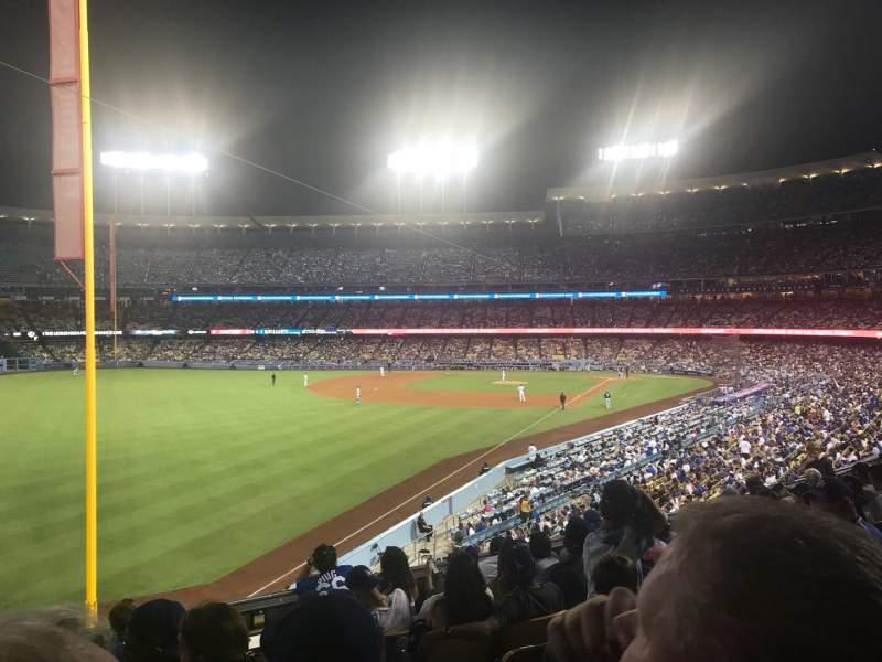 Dodger Stadium, Abschnitt: 163LG, Reihe: H, Platz: 2