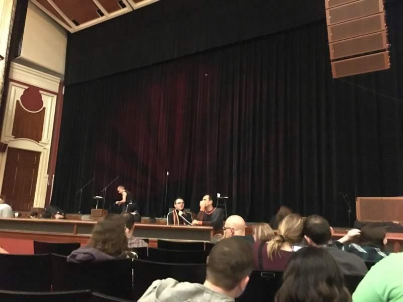Sitzplatz-Aussicht für Heinz Hall Abschnitt Orchestra R Reihe F Platz 14