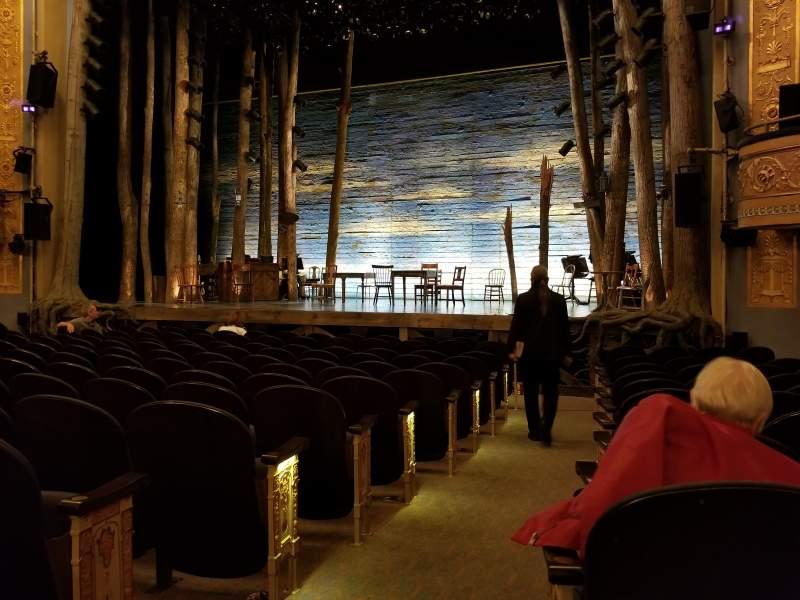 Gerald Schoenfeld Theatre, Abschnitt: Orchestra Right, Reihe: L, Platz: 2