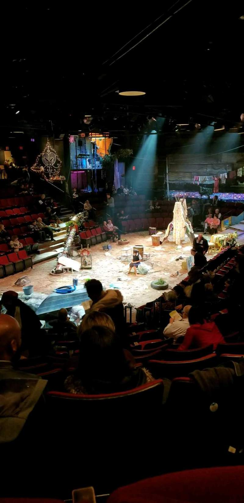 Circle in the Square Theatre, Abschnitt: Orchestra, Reihe: K, Platz: 132