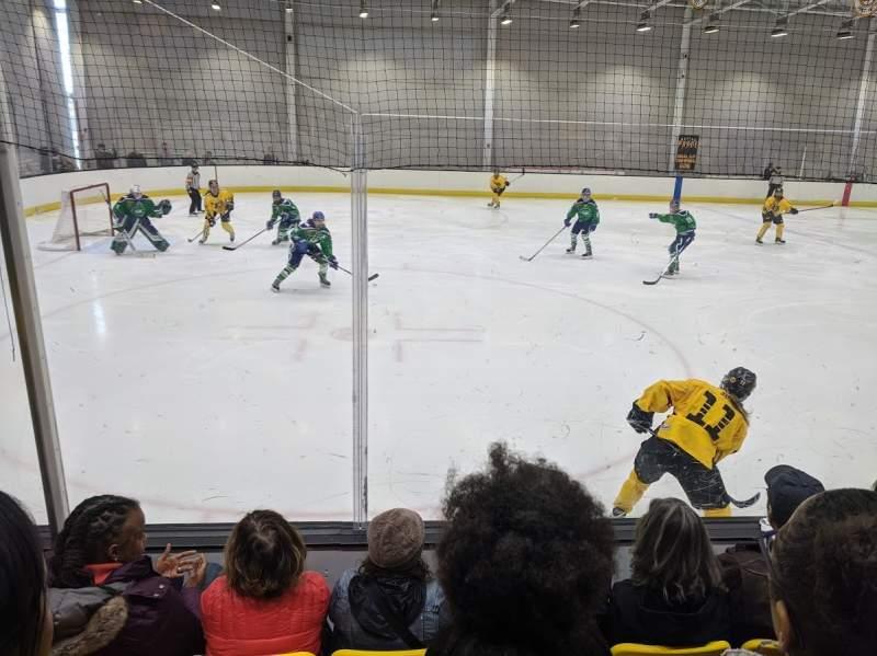 Sitzplatz-Aussicht für Warrior Ice Arena Abschnitt 5 Reihe D Platz 11