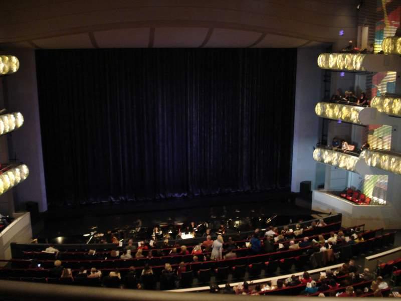 Sitzplatz-Aussicht für Kauffman Center for Performing Arts Abschnitt Grand Terrance Reihe BBB Platz 103