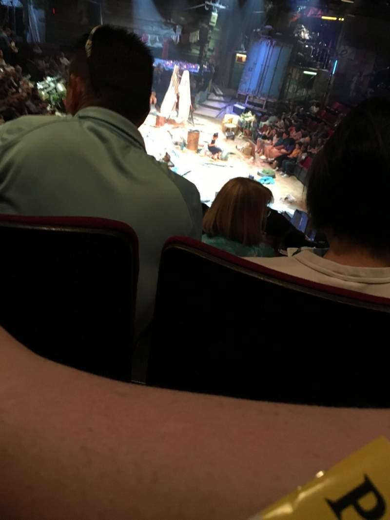 Circle in the Square Theatre, Abschnitt: ORCH, Reihe: K, Platz: 107