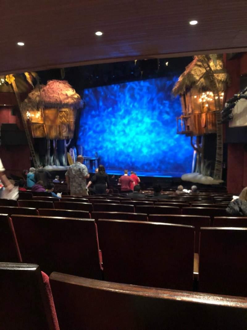 Marquis Theatre, Abschnitt: Orch, Reihe: U, Platz: 14