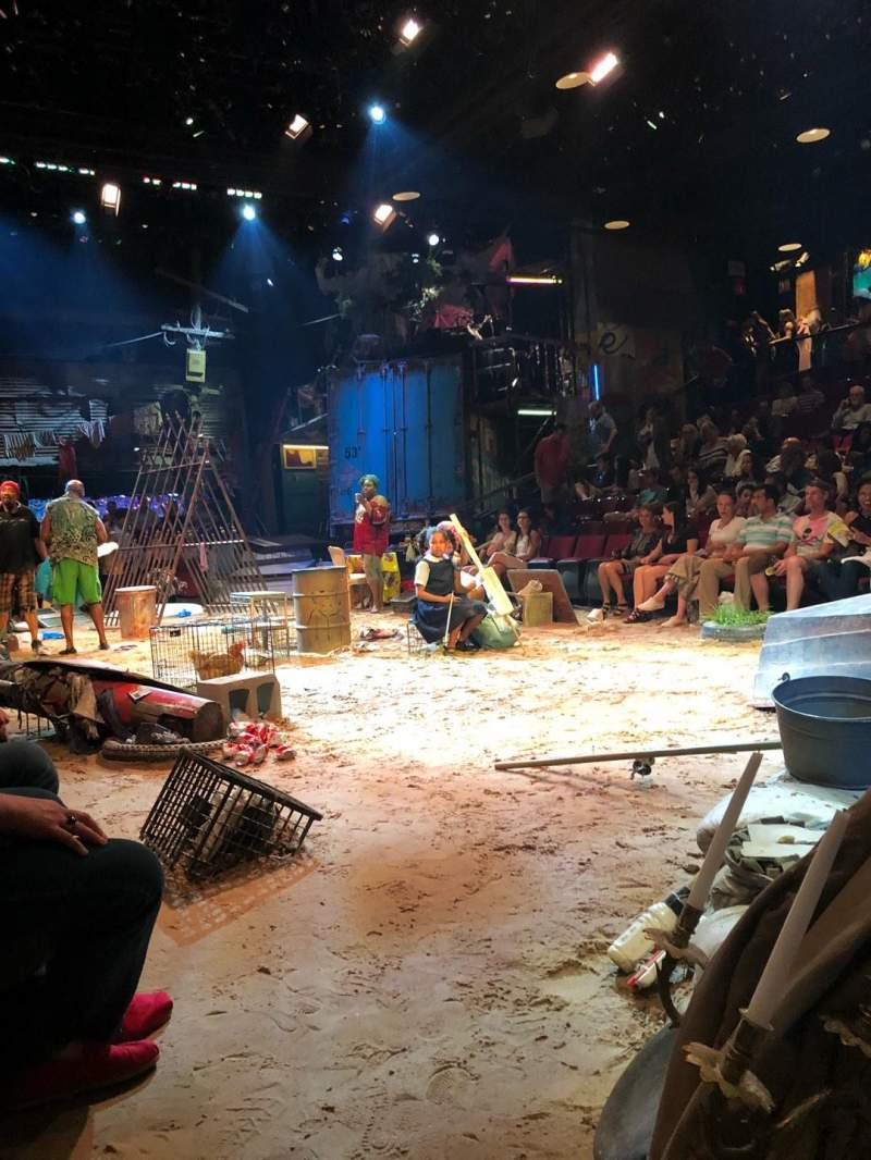Circle in the Square Theatre, Abschnitt: Orch, Reihe: A, Platz: 109