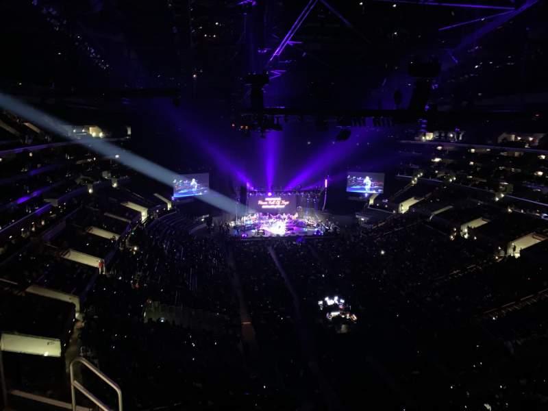 Sitzplatz-Aussicht für Staples Center Abschnitt 311 Reihe 7 Platz 19