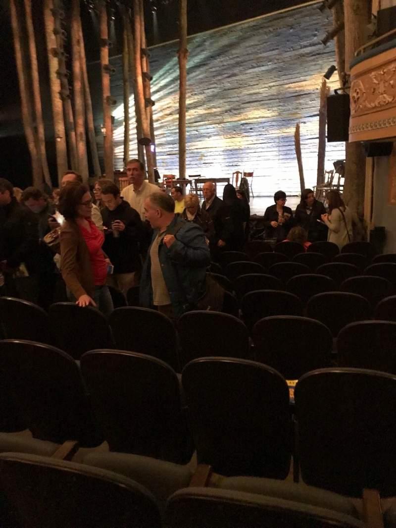 Gerald Schoenfeld Theatre, Abschnitt: ORCH, Reihe: K, Platz: 14