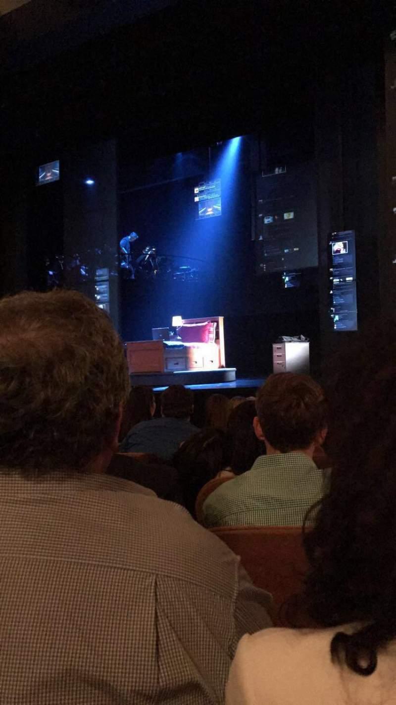 Music Box Theatre, Abschnitt: ORCH, Reihe: J, Platz: 12