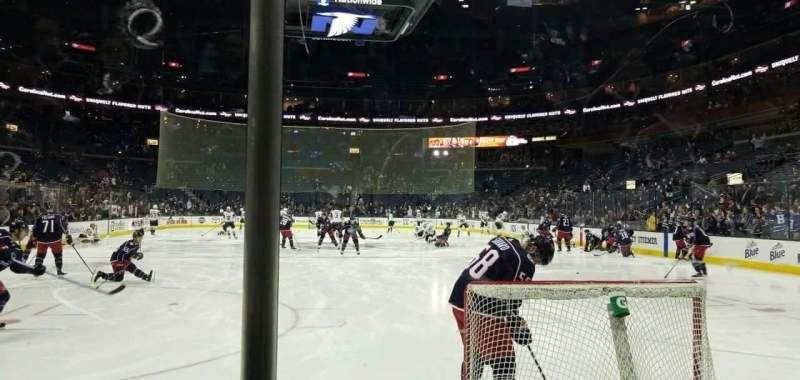 Nationwide Arena, Abschnitt: 120, Reihe: B, Platz: 11