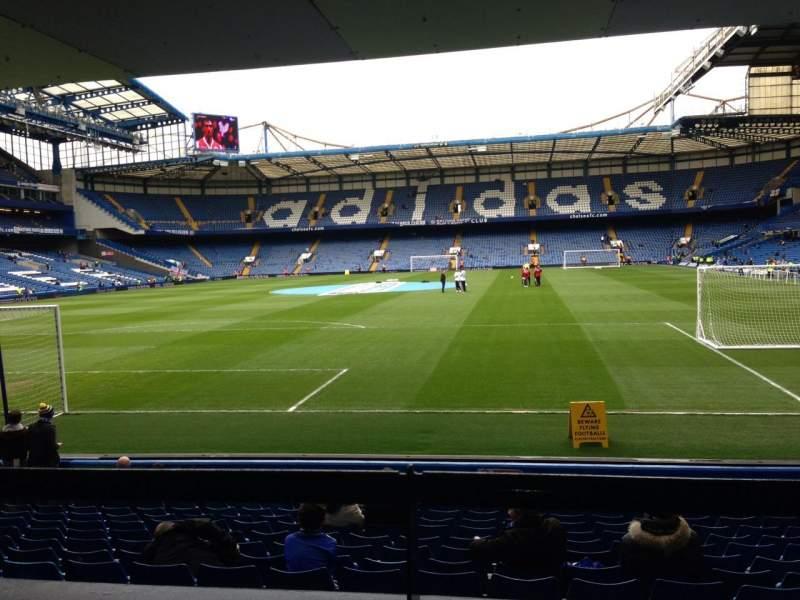 Sitzplatz-Aussicht für Stamford Bridge Abschnitt The Shed End lower Reihe 15 Platz 79