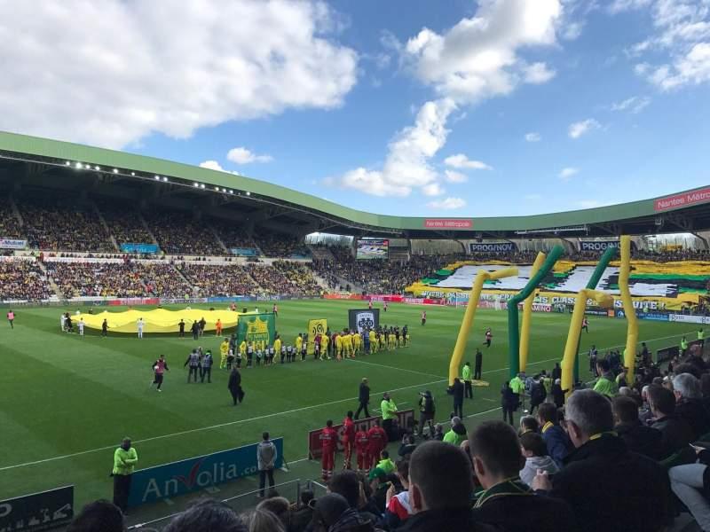 Sitzplatz-Aussicht für Stade de la Beaujoire Abschnitt Presidentielle Reihe O Platz 205